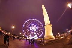 Paris Janvier 2017 - 08 la Grande Roue et l'Obélisque Place de la Concorde (paspog) Tags: paris janvier january januar 2017 placedelaconcorde obélisque granderoue