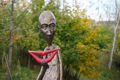 Ich schenk' dir mein Lächeln (MissKathySunshine) Tags: zotter schokoladenmanufaktur riegersburg smile lächeln lips lippen kunst art statue