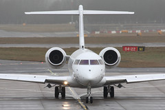 Bombardier BD-700 Global 5000 (nickchalloner) Tags: london stansted airport egss stn bombardier bd700 global 5000 vpcak