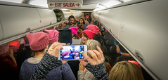 2017.01.20 Alaska Air Flight 6 in Pink LAX-DCA 00064