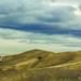 Udabno desert road and desert veiws