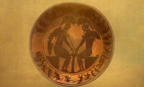 "Petteia - Ludus Latrunculorum  / Iconografía de las civilizaciones helenolatinas • <a style=""font-size:0.8em;"" href=""http://www.flickr.com/photos/30735181@N00/32522205275/"" target=""_blank"">View on Flickr</a>"