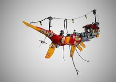 flying boat (per_ig) Tags: lego boat flying ian mcque steampunk cyberpunk