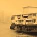 Star Ferry Kowloon Hong Kong Sepia #dailyshoot