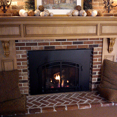 Mendota FV-44i Direct Vent Fireplace Insert