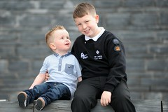 Harri Reed and his brother James, who saved his life 3