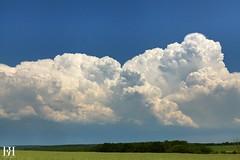 Puissance Convective (NeoNature) Tags: blue sky cloud storm france field weather canon landscape champs bleu ciel normandie convection paysage cloudscape meteorology eure mtorologie supercell supercellule