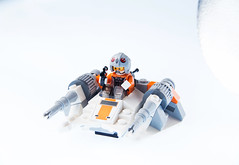 Snowspeeder (Francesco _boro. Meroni) Tags: snow macro canon studio star starwars focus lego wars stacking product tamron strobe 6d snowspeeder 2875f28 focusstacking lampista strobist