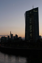 EZB (Alderbabbsack) Tags: frankfurt skyline ezb osthafen