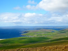 Looking North, Bigton and beyond (nz_willowherb) Tags: see scotland tour visit shetland bigton to southmainland go
