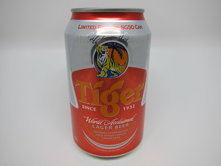 Tiger Beer Limited Editon SG50 Can & Bottle