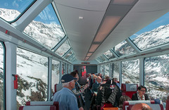 Inside the Glacier Express (westrail) Tags: panorama train alpes lens schweiz switzerland photo coach nikon track fotograf photographer view picture zug glacierexpress alpen aussicht nikkor bild 1stclass rhb d300 pontresina graubünden aufnahme rhätischebahn kanton afs1735 andreasberdan