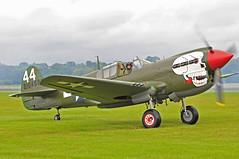 (phantom ocu) Tags: museum hurricane airshow mustang warbirds kittyhawk warbird p51 p40 rafcosfordairshow