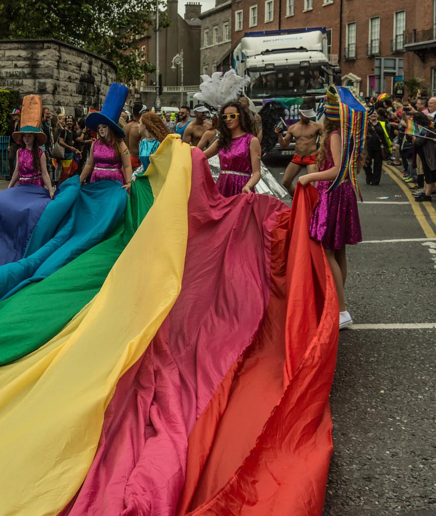 DUBLIN 2015 LGBTQ PRIDE PARADE [WERE YOU THERE] REF-106008