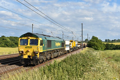 66606 - Harpenden - 6Y34 (richa20002) Tags: diesel shed engine loco 66 class fred locomotive fl freight midland engineers mainline mml