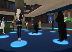 7_26_15 Varyk Master Ceremony On One Knee 11 (elyssa.moonshadow) Tags: life people star starwars sl jedi second wars yavin roleplay