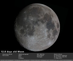 12.8 days olf Moon 29 july 2015 (Shahrin Ahmad (ShahGazer)) Tags:
