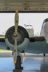 Chennault Military Aviation Museum (rfulton) Tags: china aircraft wwii worldwarii bomber beech chennault avg c45 beech18 americanvolunteergroup at11 beechaircraft