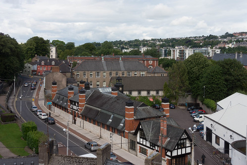 VIEWS OF THE CITY FROM THE WALLS OF ELIZABETH FORT [CORK] REF-106665