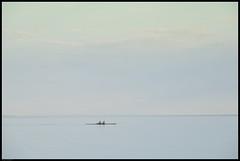 in the morning (m!ngus photografer) Tags: lake art austria sterreich xpro fuji bregenz minimal 200 fujifilm minimalism 55 bodensee morgen fujinon constance rower morgens oarsman xf 55200 vorarlberg lakeconstance ruderer minimalismus xpro1