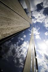 amwe (SBW-Fotografie) Tags: sky sun clouds canon himmel wolken düsseldorf sonne spiegelung hochhaus scyscraper weitwinkel sbw 70d canoneos70d canon70d sbwfoto sbwfotografie