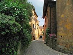 Montichiello Il Borgo The Ancient village (michele masiero) Tags: italia eu toscana valdorcia borgo vicoli montichiello fotosketcher ilborgodimontichiello