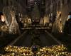 The Rockefeller Center Christmas Tree (gimmeocean) Tags: rockefellercenterchristmastree rockefellercenter christmastree channelgardens angels heralds tree 30rock manhattan newyork ny newyorkcity nyc midtown