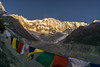 Annapurna Base Camp (RAKH AKHR) Tags: abc annapurna annapurnabasecamp annapurnabasecamptrek annapurnasouth himalayas nepal prayerflags glacier mountain sunrise tundra