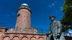 Lighthouse Kołobrzeg (blokkadeleider) Tags: polen poland polska kołobrzeg latarniamorska kolberg vuurtoren leuchtturm