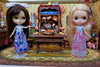 HAPPY NEW YEAR!!!!!!! (Primrose Princess) Tags: happynewyear 2017 kenner blythe doll diorama antiquedollfurniture england englishantiques cotswolds antiquingintheenglishcountryside cheers 1972 vintagechristmas englishcottage