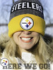 Here we go! (Eric Vidal Photographie) Tags: steelers herewego pittsburgh portrait yellow jaune smile sourire