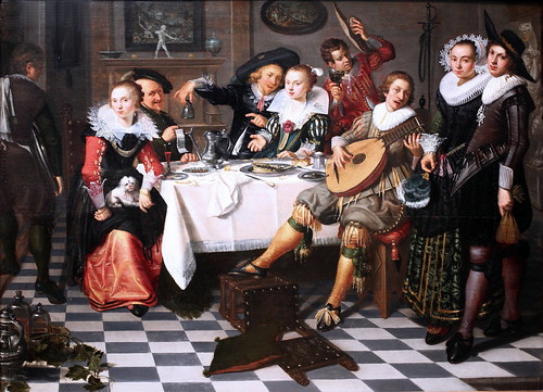 IMG_0564 Isaac Elyas ou Elias.  actif vers 1630. Joyeuse compagnie. Happy company. Amsterdam Rijksmuseum.