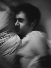 WAKE UP! (fresifantastica) Tags: dream boy man nightmare blackandwhite bw creepy terror nightterrors sleepparalysis