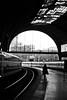 *** (Misha Sokolnikov) Tags: barcelona spain train station silhouette tracks leica 50mm aposummicron leicamonochrom leicamm leicamsystem blackandwhite blackwhitephotos blancoynegro monochrome b bw