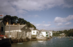 img834 (foundin_a_attic) Tags: 1984 st michaels mount mullion ctcoe cadgwith falmouth rose land cornwall lifeboat house union jack boats sea sailing ships green houses shops uk england
