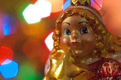 Holiday Bokeh (ertolima) Tags: hmm macromondays holidaybokeh bokeh light angel ornament christmas macro