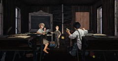 Play is the beginning of knowledge. (Skippy Beresford) Tags: boy child childhood vintage school schoolhouse teacher play laughter light love