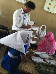 Soya Ali Hossain Nationalized Primary School (Global Partnership for Education - GPE) Tags: globalpartnershipforeducation gpe education educationinbangladesh bangladesh younggirls girlseducation students
