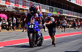 YAMAHA YZF R-1  Jean-Edouard Bacot Kevin Aulas Remi Chapelier  Team S.K.T.