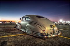 1946 chevy fleetline (pixel fixel) Tags: 1946 chevrolet fairplex fleetline gray pomona pomonaswapmeet primer taillights