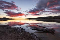 Se fué el sol en la Portiña (kanzer16) Tags: sony voigtlandersuperwideheliar15mmf45iii sonya7r landscape sunset reflect colors naturaleza paisaje reflejos colores ilce7r