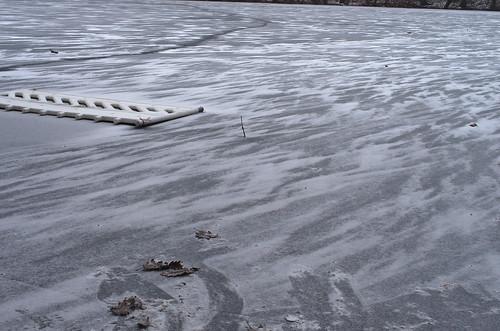 Krumme Lanke zugefroren 2