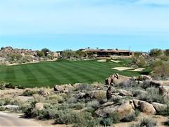 Troon North Pinnacle #4 from tee 382ed (tewiespix) Tags: troonnorth golfcourse golf pinnacle phoenix scottsdale arizona