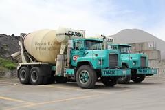 Cardi Corp (175) (RyanP77) Tags: tractor water island construction mixer dump equipment company granite trucks trailer 690 rhode corp rex mack warwick dm trucking cardi truc dumper mcneilus dm600 dm800