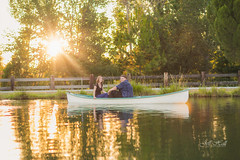 The Burns Family (JeffHallPhotos) Tags: california family sunset lake portraits canon photographer 85mm canoe professional lincoln farms bywater lavendar canon5dmarkiii