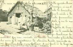 "Tarjeta postal: ""Mxico choza de indios.""  Sello al reverso: ""Morelia Michoacn 9 de julio de 1908."" (gubama) Tags: mxico de morelia postcard postal michoacn indios postale choza tarjeta tarjetapostal moreliamichoacn chozadeindios 9071908"