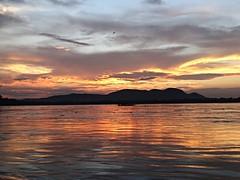 Evening on the Brahmaputra (mnrajwb (Mohan Nagarajan)) Tags: sunset river assam meghna brahmaputra tsangpo sonydschx400v riverandmonsoon grupoolhandoomundo lookingattheworldgroup