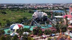Log Flume (Yukkuriko) Tags: thailand bangkok amusementpark logflume bearbeitet 遊園地 freizeitparkt