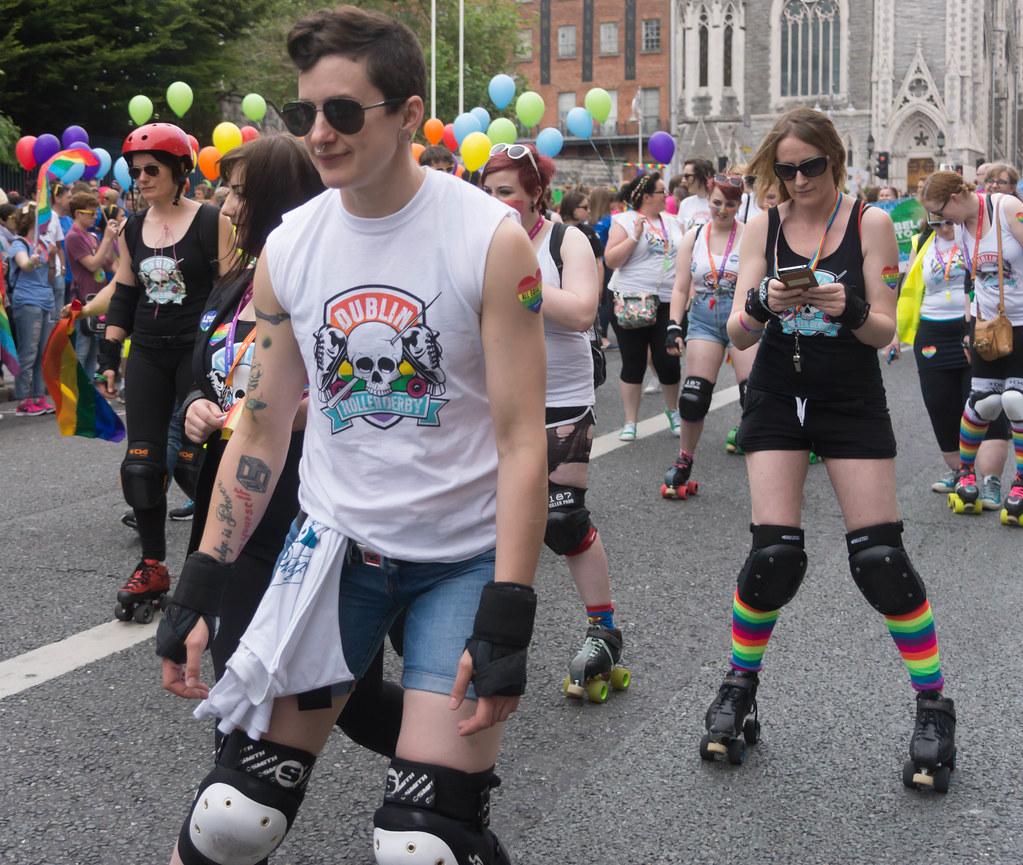 DUBLIN 2015 LGBTQ PRIDE PARADE [WERE YOU THERE] REF-105978