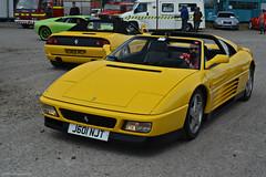 Ferrari 348 ts (CA Photography2012) Tags: auto show ca classic car yellow museum photography fly italian italia day convertible grand automotive ferrari event exotic giallo vehicle gt supercar ts v8 spotting sportscar targa brooklands 348 tourer motorcar 2015 j601njt